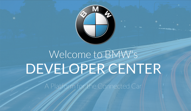 BMW-API-Developer-Center