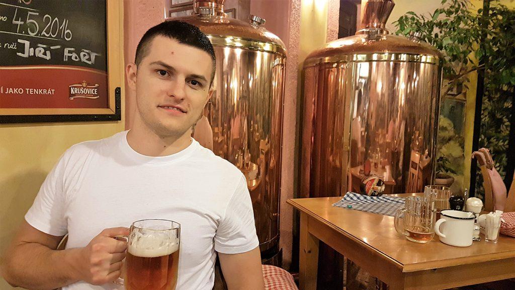 pivo beer prague