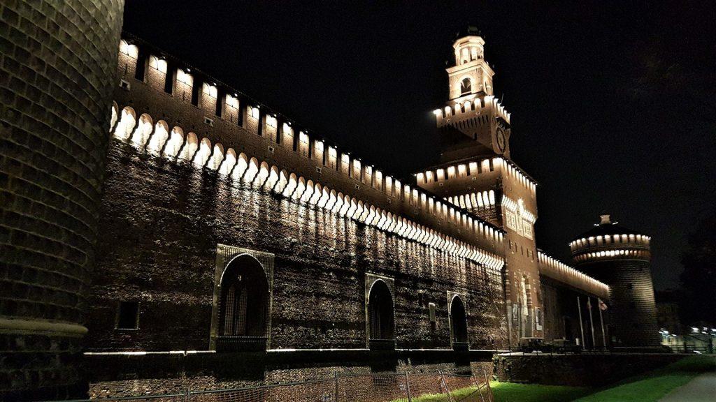 Castel Sforzesco din Milano 1