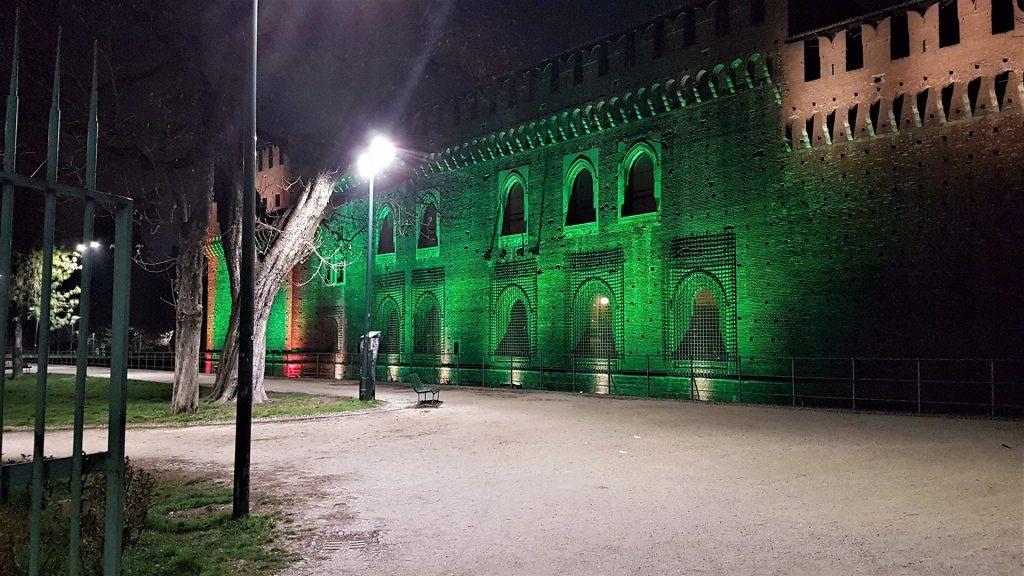 Castel Sforzesco din Milano 2