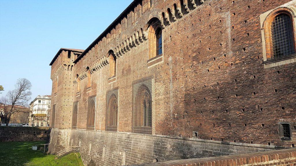 Castel Sforzesco din Milano 4
