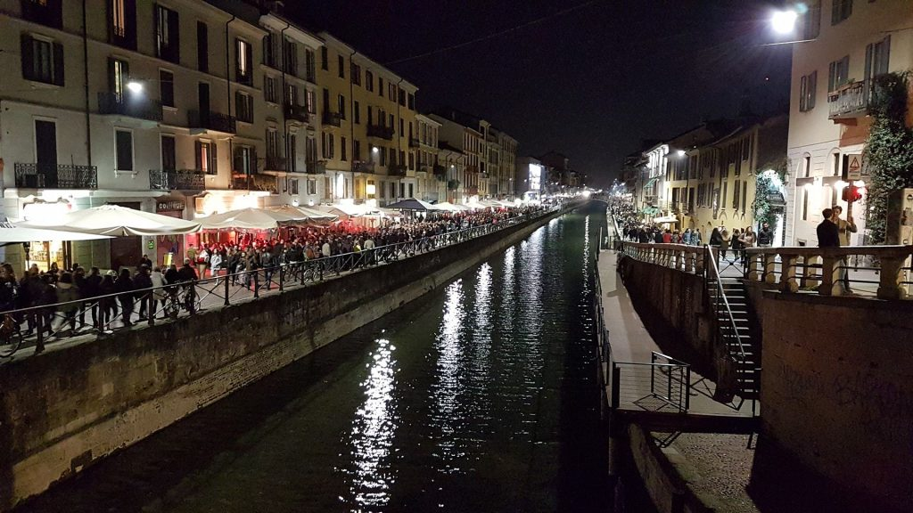 The Navigli neighborhood