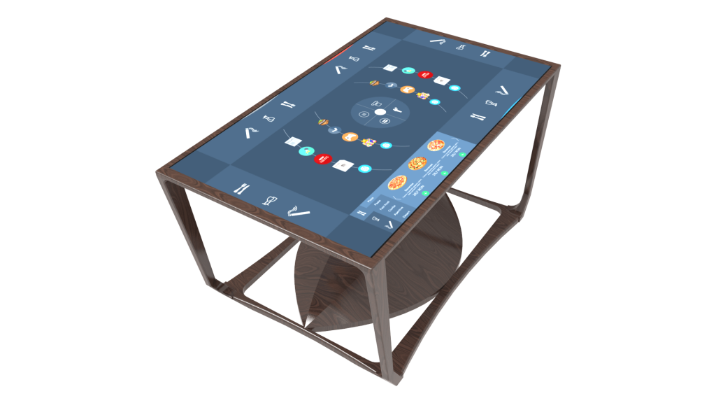 Smart S touchscreen table