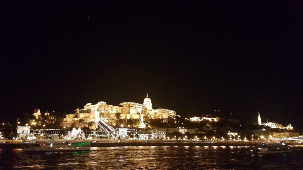 Buda Castle Budapest Noaptea