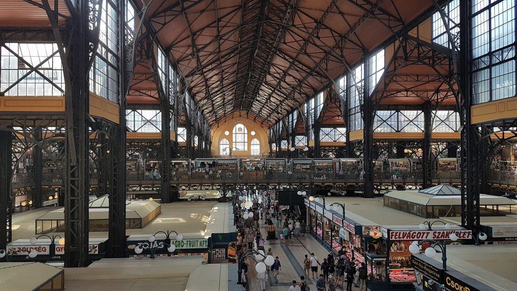 Budapest market hall inside