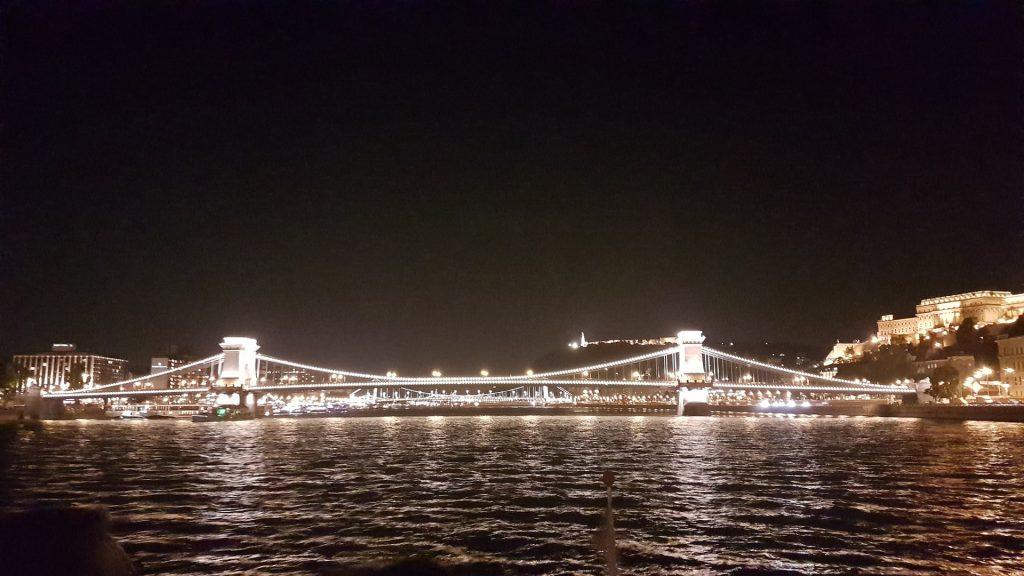 Chain Bridge night