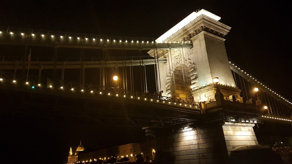 Chain Bridge night