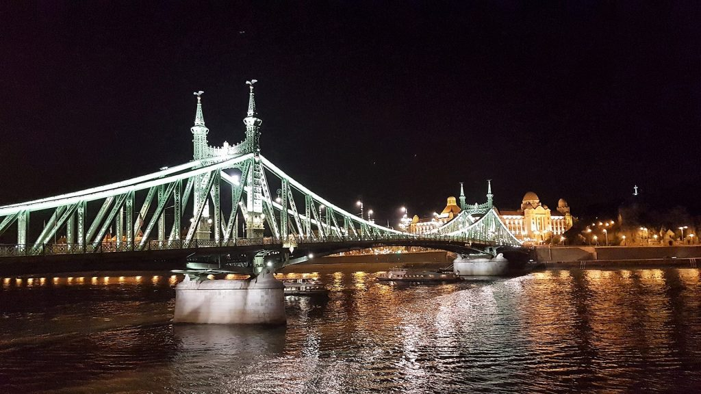 Liberty Bridge Budapest Night