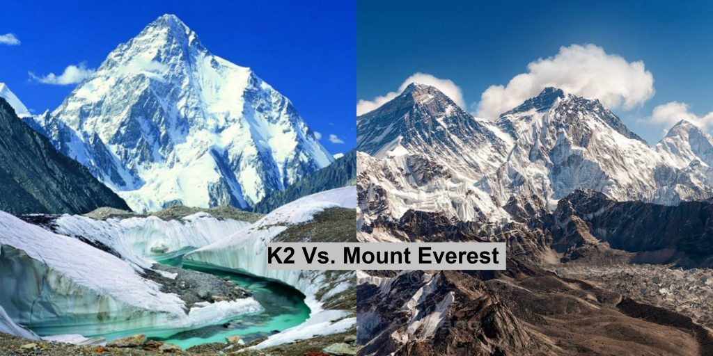 k2 vs everest