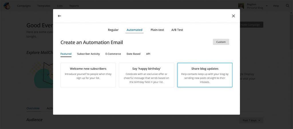 mailchimp-automated