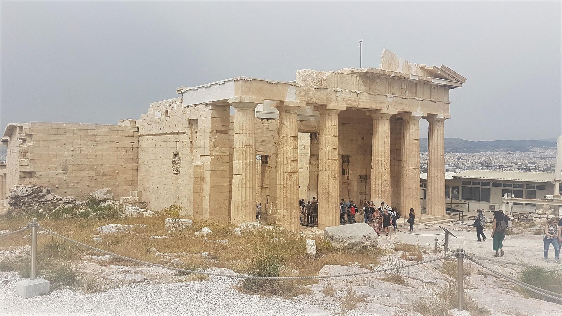 Propylaea-Atena