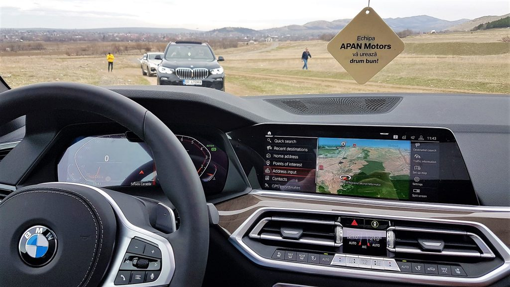 interior BMW X5 2019