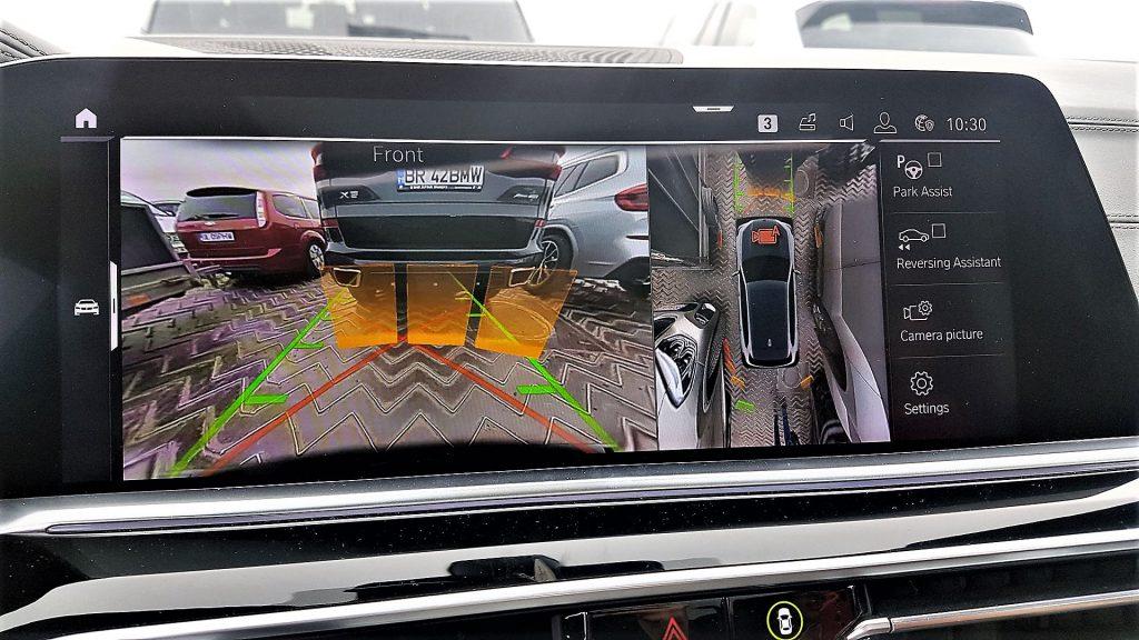 parking assistant bmw x5 2019