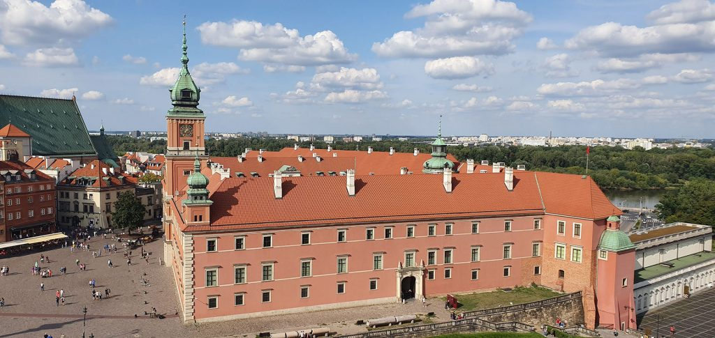 warsaw-royal-castle-top-view