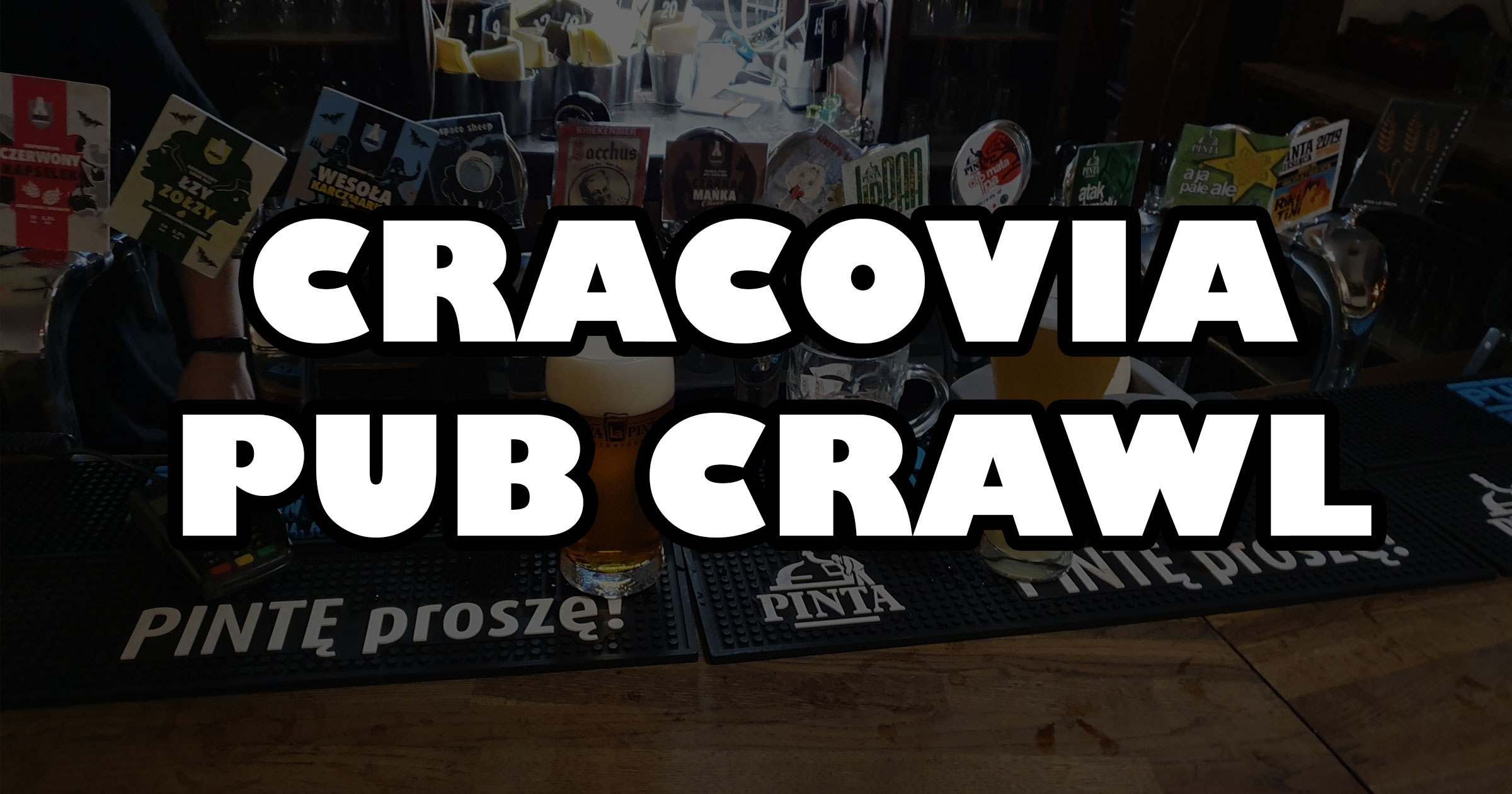Cracovia pub crawl