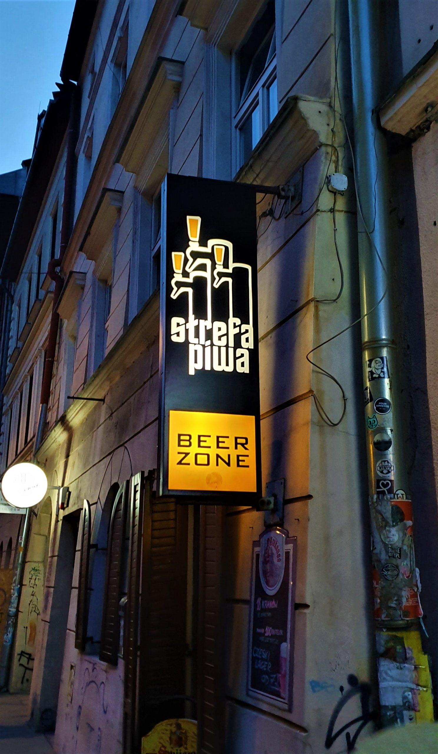 strefa piwa krakow