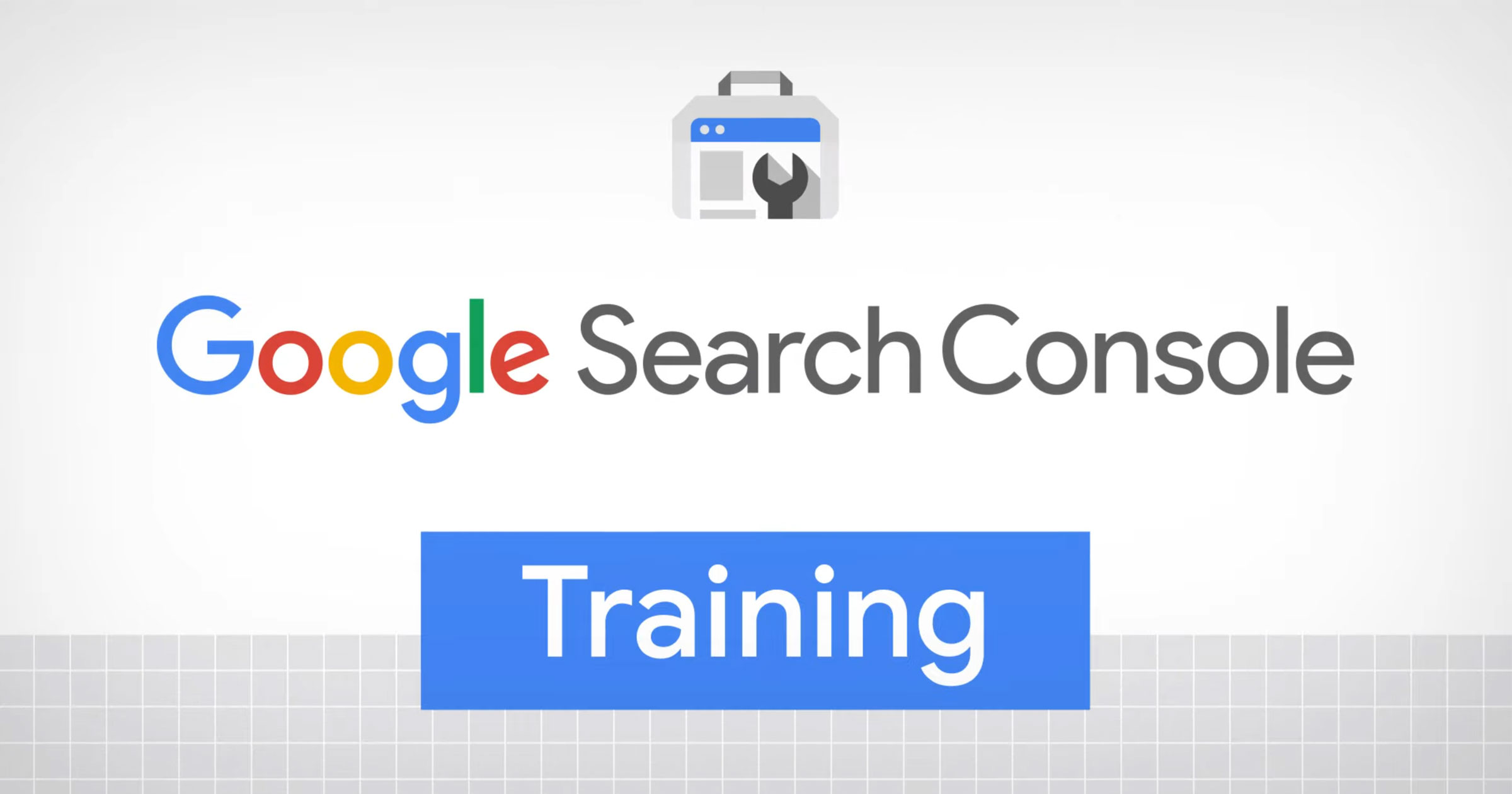 google search training
